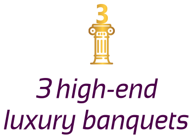 3 High-End Luxury Banquets