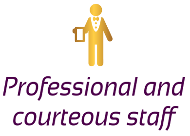 Professional and Courteous Staff